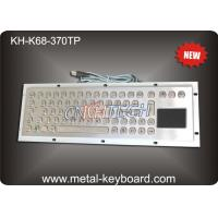 Wholesale Metal Industrial Computer Keyboard With 70 Keys Touchpad Keyboard from china suppliers
