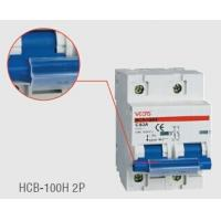 Wholesale 10KA 63A / 80A / 100A Mini Circuit Breaker Light With C / D Tripping Curve from china suppliers