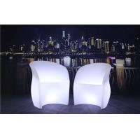 Wholesale 3 Pcs Color Charging LED Glow Furniture AC 100-240V Input LED Tables And Chairs from china suppliers