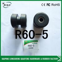 Wholesale R60-5 Hyundai Excavator Rubber Engine Cushion , Excavator Spare Parts Engine Mounts from china suppliers