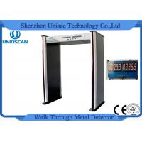 Wholesale 6 Zone Portable Metal Detector For Police Station / Jail PVC Synthetic Material from china suppliers