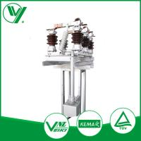Quality Normally Type Substation Low Voltage Disconnect Switch Manual Mechanism 12KV for sale