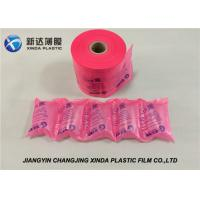 China LDPE Material Clear Air Cushion Film Express Protect Bag Air Bubble Wrap Film on sale