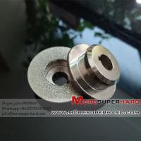 Buy cheap Electroplated CBN Grinding Wheel For  Gerber & Bullmer machine-julia@moresuperhard.com from wholesalers