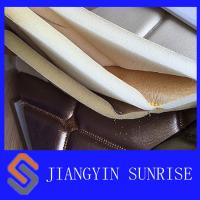 Wholesale Bedroom Wall Dyeing Woven Leather Upholstery Fabric With PU Coating from china suppliers