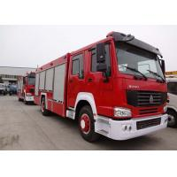 Wholesale Water Tank Fire Fighting Vehicles 8-12 CBM 290 HP Emergency Rescue Vehicles from china suppliers