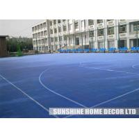 Wholesale Plastic Tennis Court Flooring , Anti Slip Gym Flooring Surface, Multi-Game Courts from china suppliers