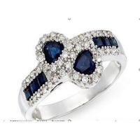 Wholesale Diamond & sapphire ring from china suppliers