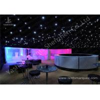 Wholesale Pretty Lighting Onaments Luxury Wedding Tents with Anodized Aluminum Frame from china suppliers