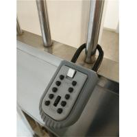 Wholesale Commercial 10 Push Button Zinc Alloy Portable Key Lock Box 150*60*45mm from china suppliers