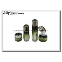 Wholesale Ink Green Empty Makeup Containers Lotion Plastic Cosmetic Containers With Lids from china suppliers