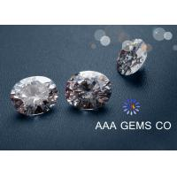 Wholesale Earrings / Rings / Necklaces White Moissanite Gemstone For Moissanite Jewelry Stores from china suppliers