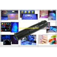 Wholesale MINI Rechargeable 18650 Battery 3W High Power 395NM Ultraviolet Pocket Led Flashlight from china suppliers