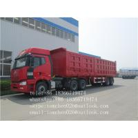 Wholesale 3 Axle rear dump semi trailer with HYVA cylinder 28 tons , two speed from china suppliers