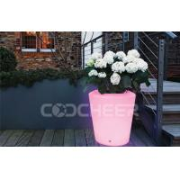 Buy cheap Durable Light Up glow in the dark flower pots Conservatory , Rechargeable from wholesalers