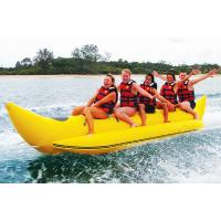 Wholesale Funny Fatastic PVC Banana Boat Water Sport With 0.9mm PVC Tarpaulin from china suppliers