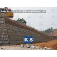 Wholesale Customized Galvanized, Galfan, PVC, PE Gabion Reinforced Wall Flexible Protective Mesh from china suppliers