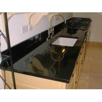 Wholesale Granite Countertop,Absolute Black Material, Popular for Countertop,Vanity Top,Table Top from china suppliers
