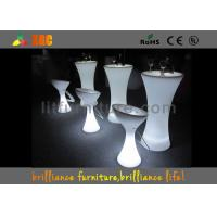 Wholesale 16 Colors Illuminated Changeable LED Bar Tables , Illuminated Cocktail Table from china suppliers
