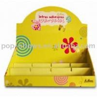 Wholesale Point Of Sale Cardboard Counter Display for Food from china suppliers