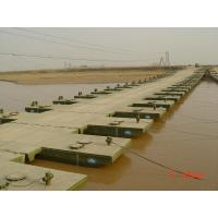 Wholesale Military Floating Pontoon Bridge , Pedestrian Floating Water Bridge from china suppliers