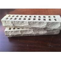 Wholesale Special Mountain Shape White Perforated Clay Bricks High Strength For Long Life from china suppliers
