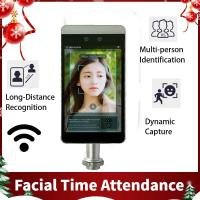 China RA08 New China arrival 8 INCH Android IP64 Dual Camera Facial Recognition Access Control on sale