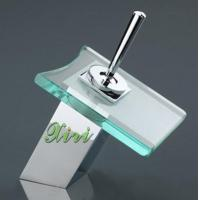Wholesale Square Glass Waterfall Basin Faucet (XR Z645-1) from china suppliers