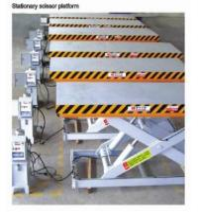 Quality Mini-type 1m Stationary Aerial Scissor Lift  platform for sale