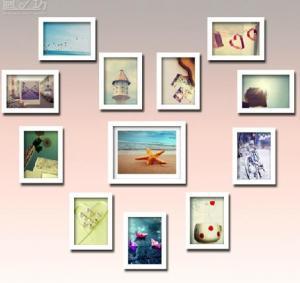 Wholesale 2013 hot sale home decorations photo frames,photo frames wall,photo wall from china suppliers