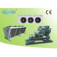 Wholesale Cold room storage room air cooled Bitzer condensing unit with air cooler from china suppliers