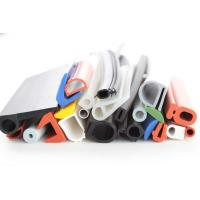 Wholesale silicone rubber strip tubing silicone rubber extrusions profiles colorful white red blue green section from china suppliers