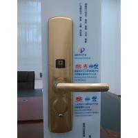 Quality Delux RF key card villa hotel lock fingerprint door lock for sale