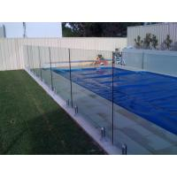 Wholesale R2 Corner Pool Fencing Glass Panel Thermal Stability Withstand 250℃ from china suppliers