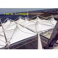 Wholesale PTFE Fabric Project Swimming Pool Tents PVDF Tensile With Steel Frame from china suppliers