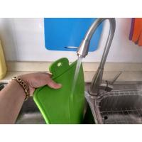 Wholesale Easy Washing Safe Use Food Grade Silicone Cutting Board Of Blue and Green from china suppliers