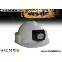 Wholesale Explosion Proof 3500-4500 Lux Led Miners Lamp , Cordless Cap Lamp 300ma Li - Ion Battery from china suppliers