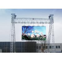 Quality Clear Large Advertising Outdoor Rental Led Screen Full Color High Performance for sale