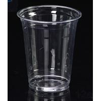 Wholesale 380ml Disposable Juice Cups , Plastic PET Cups 12oz 70 Degrees from china suppliers