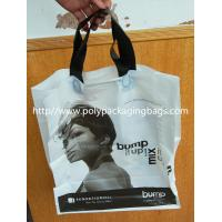 Wholesale Promotional Plastic Handle Bag With Logo , Printed PE Packaging Tote Bag from china suppliers