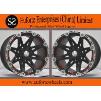 Wholesale 17x8.5 4x4 Off Road Wheels 17x9.5 Black Machine Flange 8 Spokes Concave Wheels from china suppliers