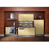 Quality Embeded Contemporary Style Plywood Kitchen Cabinets With Carcass Lacquer Door for sale
