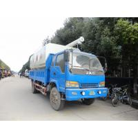Wholesale high quality and competitive price farm-oriented animal bulk feed tank truck for sale, livestock animal feed truck from china suppliers