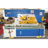 Wholesale Hydraulic punch & shear Ironworker Machine , Light Pole Machine cutting 25mm Max from china suppliers