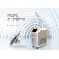 Wholesale Stationary Q Switch Nd Yag Laser 1320nm , 1064nm Pigment Tattoo spts Removal Machine from china suppliers
