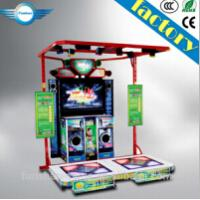 Quality 2015 popular dancing video game machine for sale