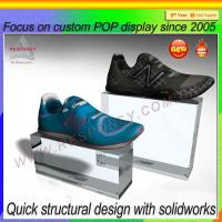 Wholesale 2015 New Design Creative Acrylic Shoe Display Holder from china suppliers