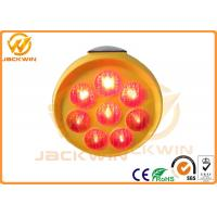 Wholesale PP Plastic Red / Yellow / Blue LED Sunflower Solar Traffic Sign For Roadside Warning from china suppliers
