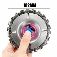 China Multi Functional Tungsten Alloy Grinder Chain Disc 22 Tooth For Wood Cutting on sale
