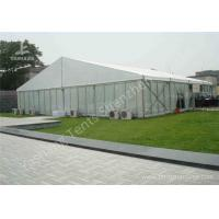 Wholesale 20M by 20M Aluminum Profile Outdoor Event Tent with Transparent Glass Wall from china suppliers